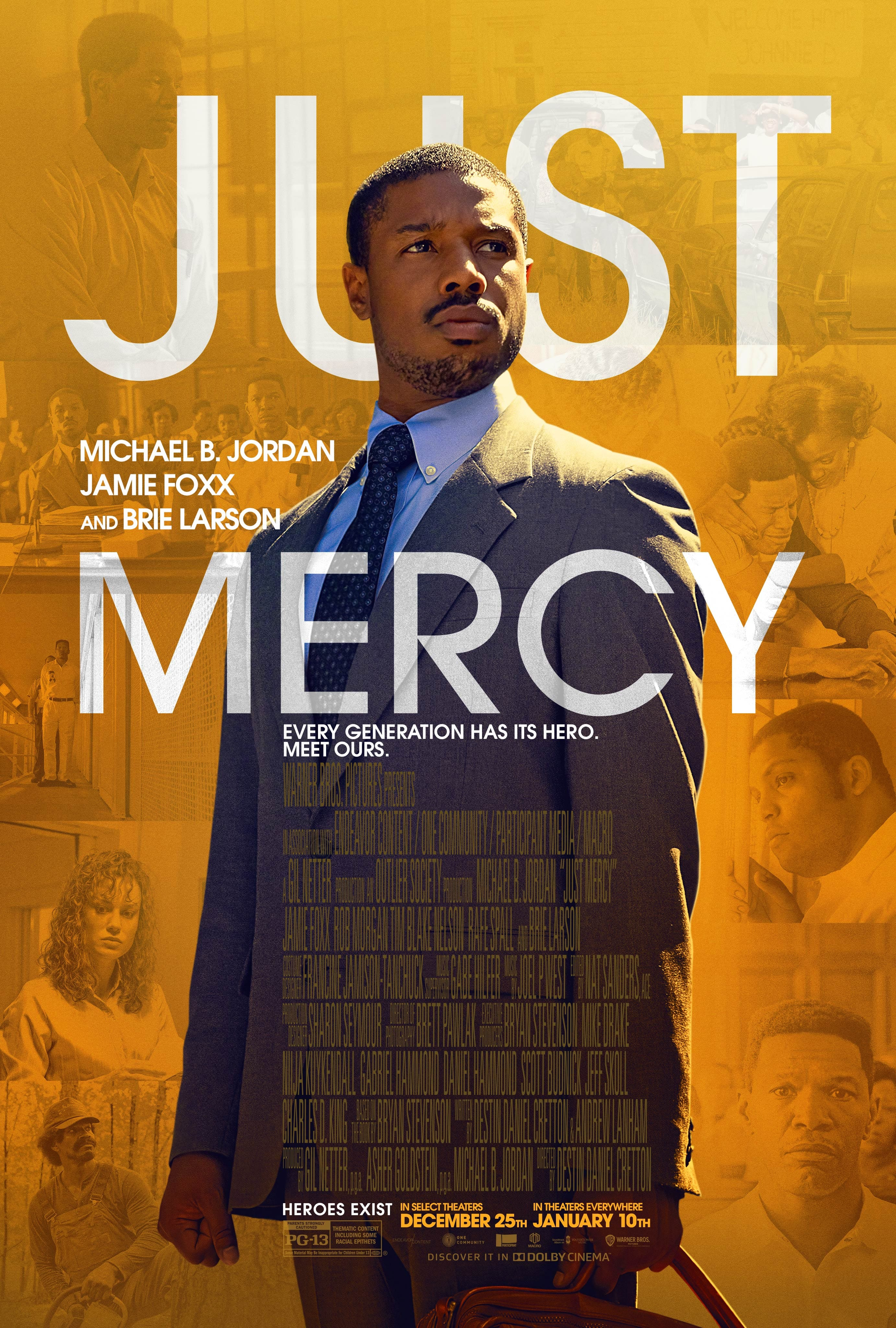 Atom Tickets - Just Mercy (Movie) - Buy One Get One Free