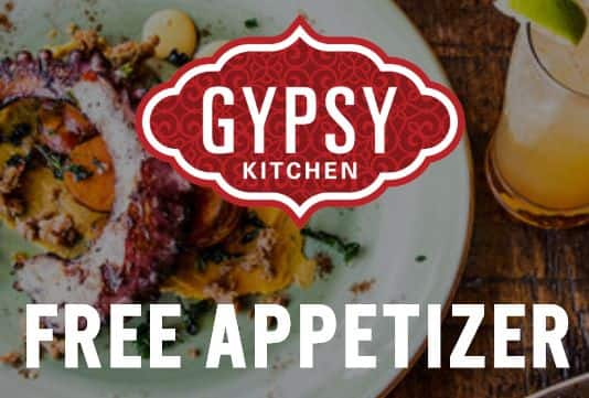Gypsy Kitchen (Atlanta, GA): Free Appetizer Coupon
