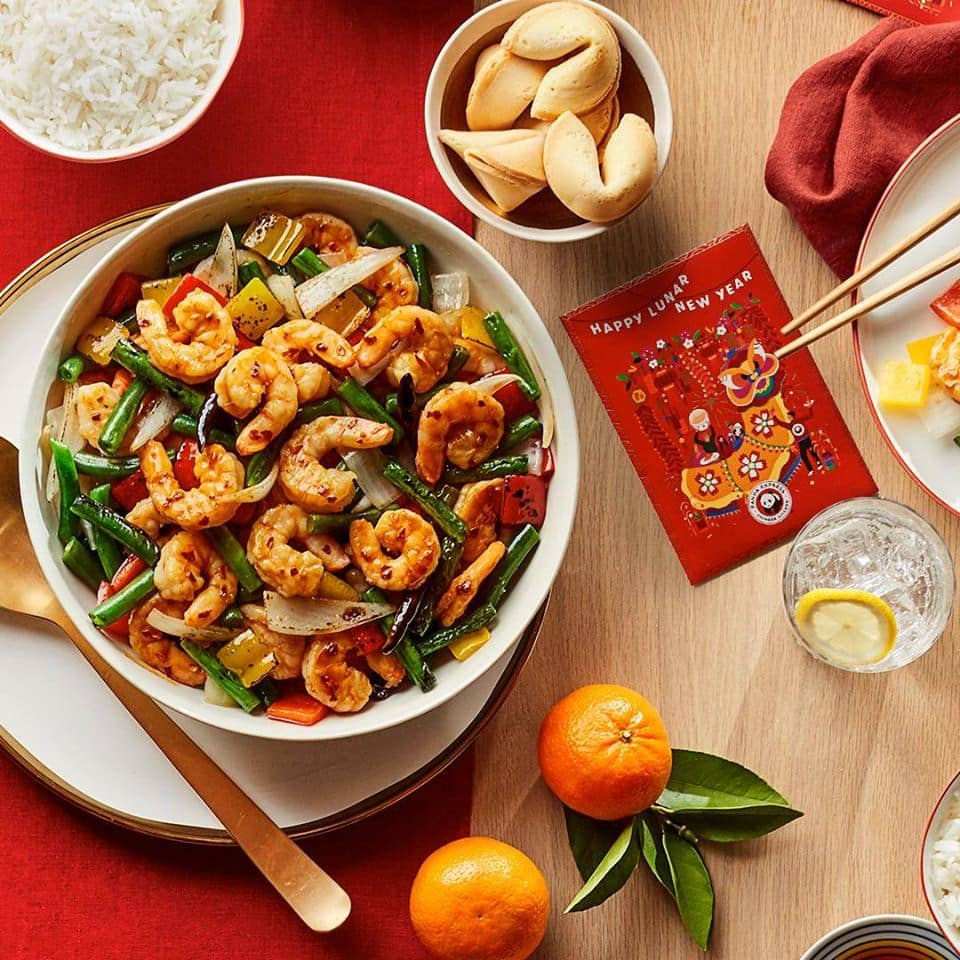Panda Express: Free Red Envelope w/ a coupon for free Firecracker Shrimp on January 25th
