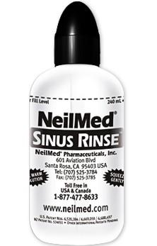 Free NeilMed Sinus Rinse Bottle w/ 1 Packet