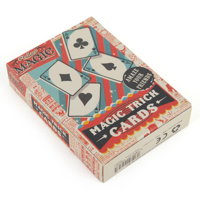 Ridley's Magic Trick Cards $3.79 for 1-Pack or $5.89 for 2-Packs