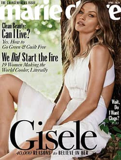 Free 2-Year Marie Claire Magazine Subscription