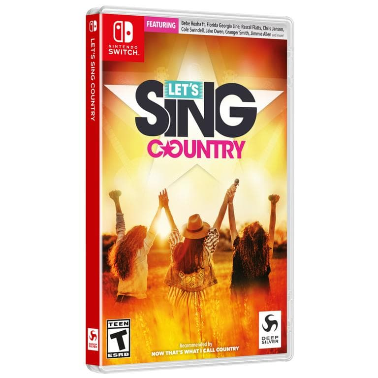 Let's Sing Country (Nintendo Switch, Xbox One, or PS4) $9.99 or Let's Sing Country w/ 2 Microphones Bundle (Xbox One or PS4) $19.99