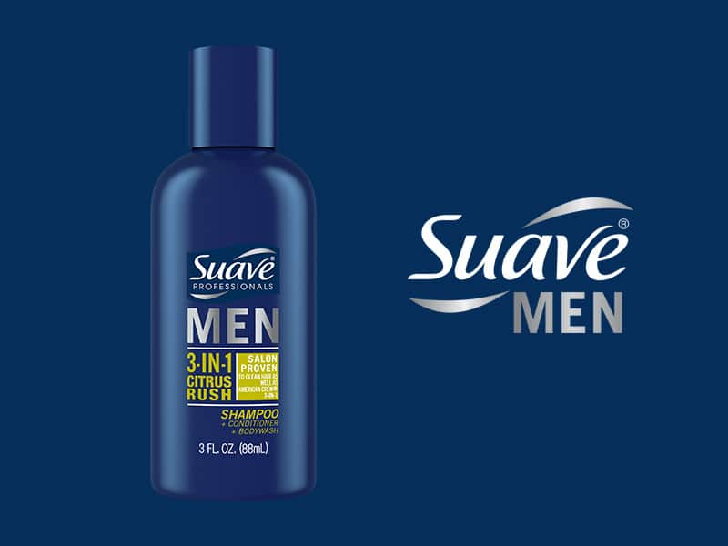Free Sample of Suave Men 3-in-1 Citrus Rush