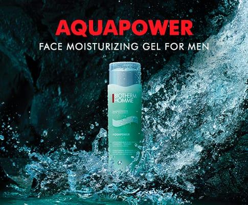Free Sample of Aquapower Face Moisturizing Gel for Men