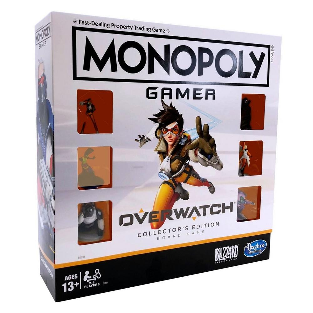 Monopoly Gamer: Overwatch Collector's Edition Board Game for $9