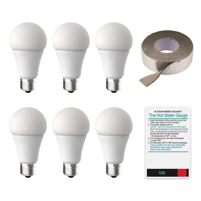 Free Energy Saver Pack (Wisconsin Residents)