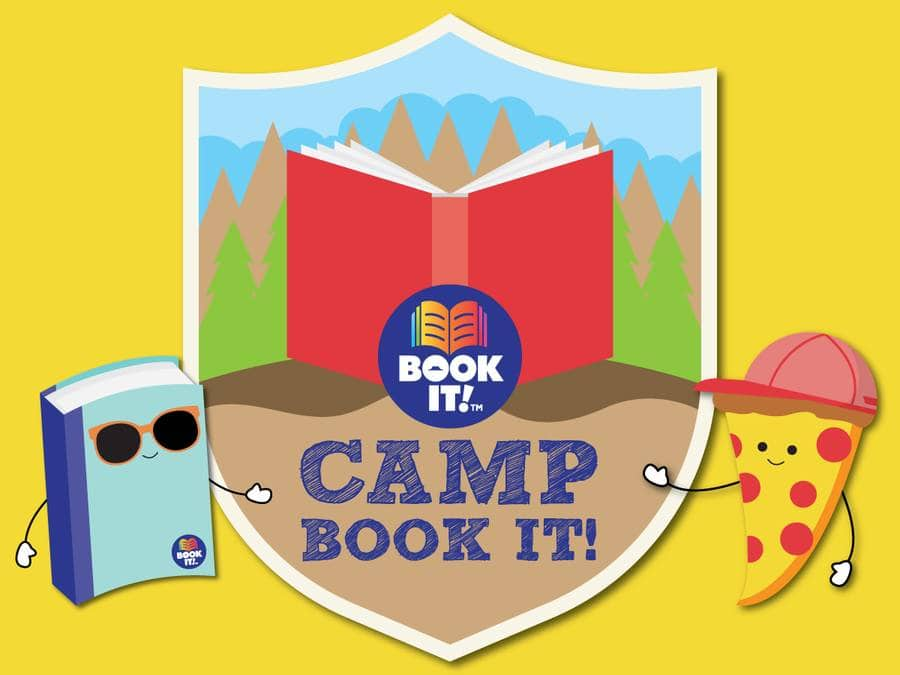 Pizza Hut: Camp Book It - Free 1-Topping Personal Pizza for Kids Reading Program (June - August)