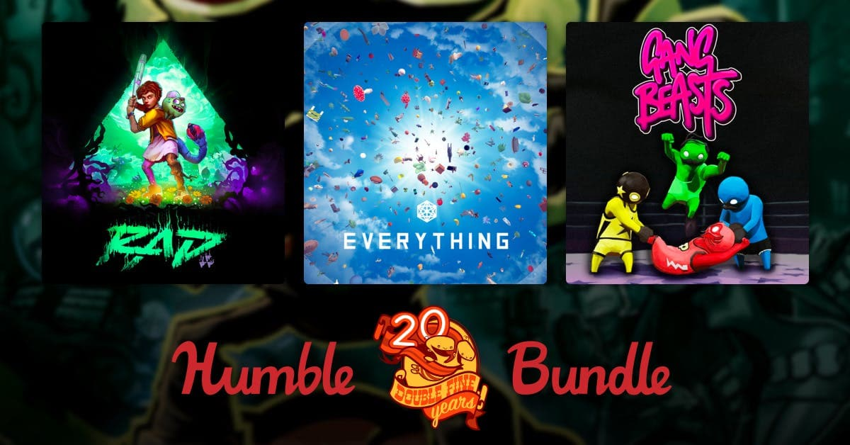Humble Double Fine 20th Anniversary Bundle: Psychonauts, Double Fine Adventure! Complete Series Deluxe Edition $1 & More