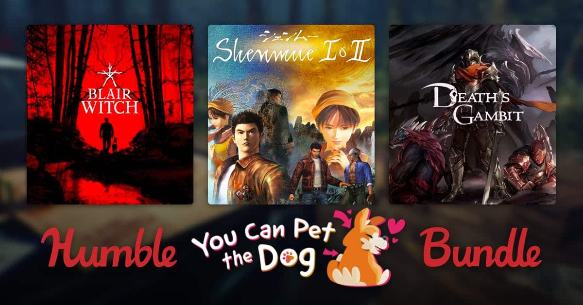 Humble You Can Pet the Dog Bundle (PCDD): Scribblenauts Unlimited, Beyond Eyes, Dog Sled Saga, Bulb Boy for $1 & More (Shenmue I & II + More for beating the average)