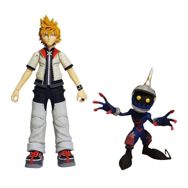 Kingdom Hearts Series 2 Roxas & Soldier Action Figures (2-Pack) $5.58 & More