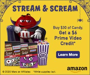 Amazon: Purchase $30+ of Select Candy, Get $6 Prime Video Credit