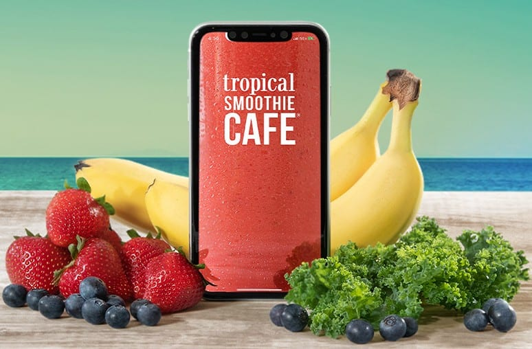 Tropical Smoothie Cafe: Get a Free Smoothie on your 2nd Purchase via App (min $5 1st purchase)