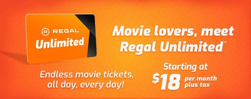 PSA: Regal Cinema subscription plan has arrived!