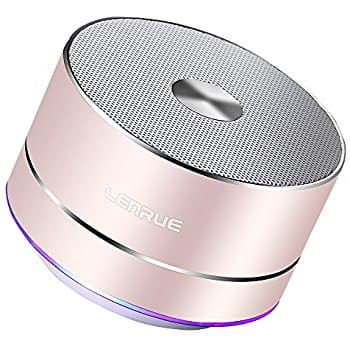 LENRUE Portable Bluetooth Speaker 10% off with discount code $11.69