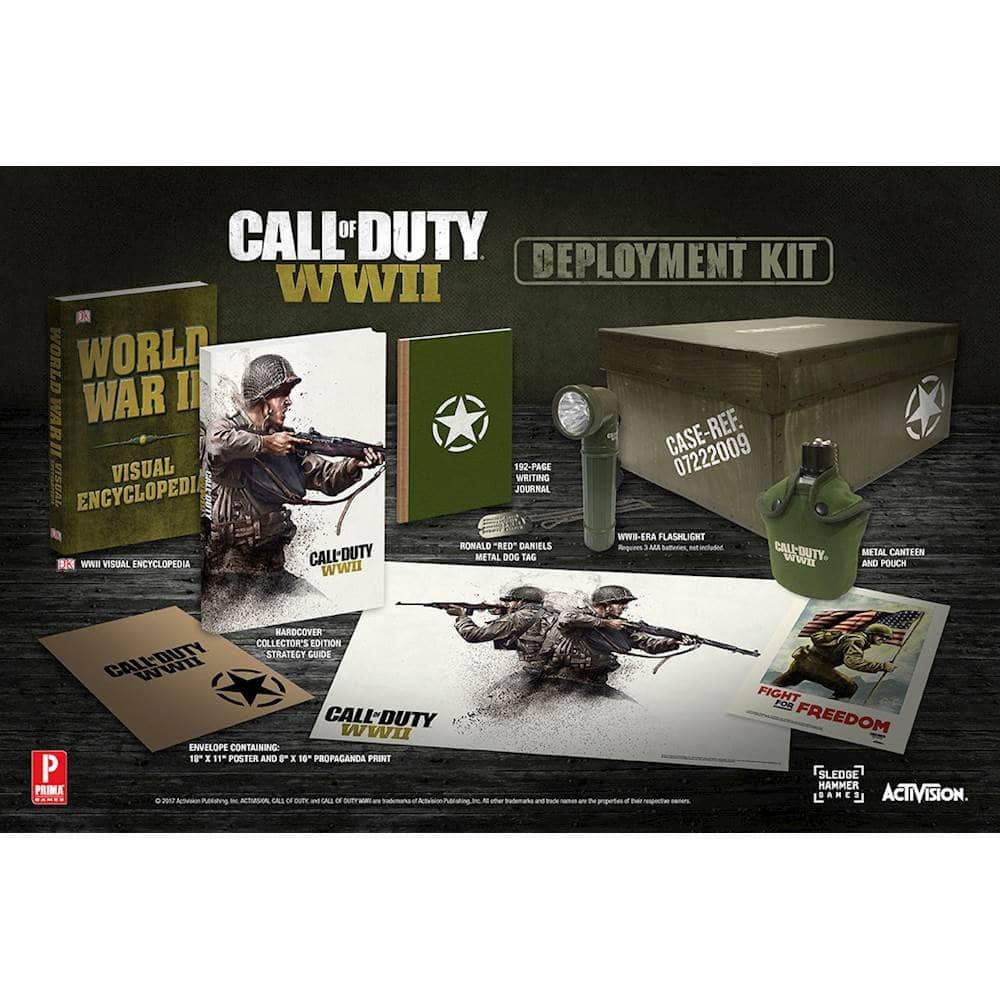 The Call of Duty®: WWII Deployment Kit $19.99