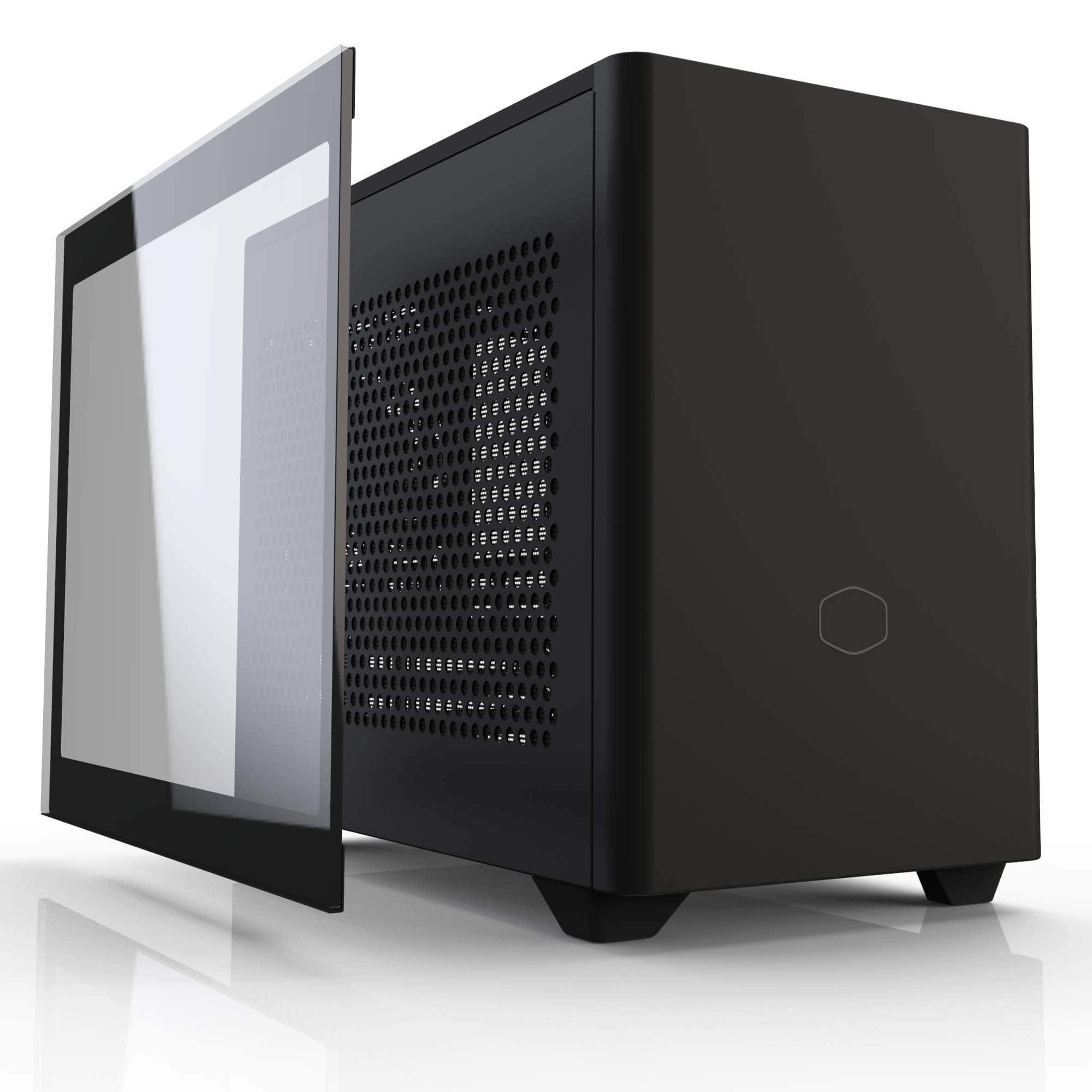Cooler Master NR200P Case (tempered glass panel and cable) $97.07