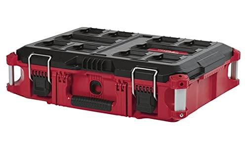 Milwaukee Packout Tool box $49.99 Large Pakout Box $59.99
