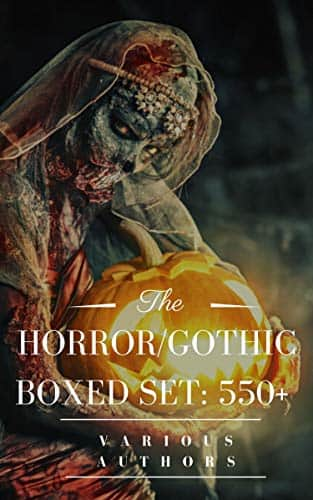 HORROR/GOTHIC Boxed Set: 550+ (Halloween Edition) $0.49 @ Amazon Kindle stores