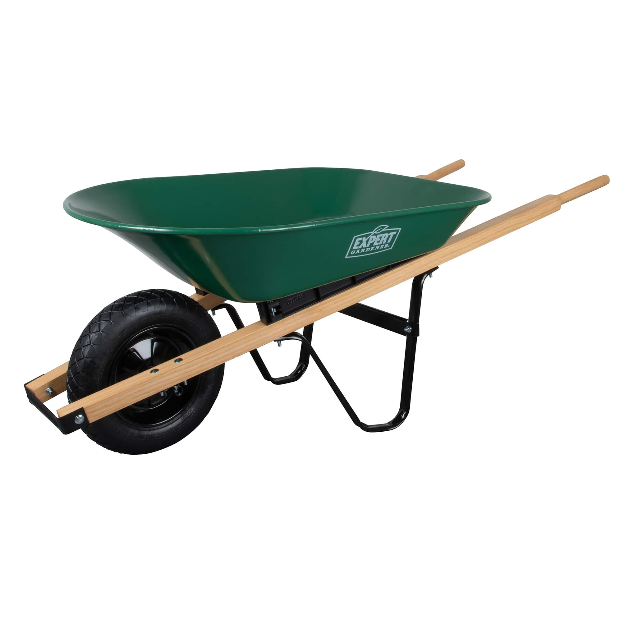 $9 wheelbarrow walmart - Expert Gardener Steel Wheelbarrow, 4 Cu. Ft.