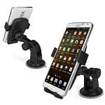 Universal One-click Car Mount for Smartphones - $4.95 + s/h after $10 off code on Amazon