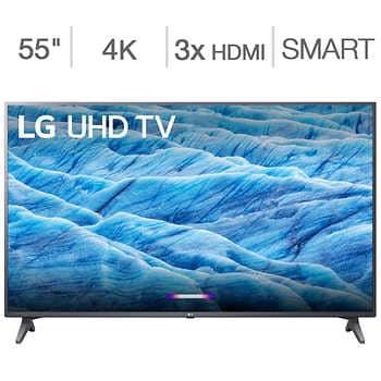 "LG 7 Series 4K UHD HDR - 55"" $350 - 65"" $580"