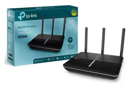 Walmart B&M TP-Link Archer AC2300 Smart WiFi Router - Dual-Band Gigabit MU-MIMO, Works with Alexa for $64.00