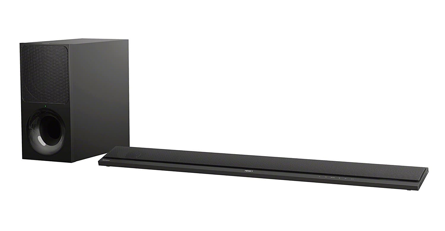 Sony HT-CT800 sound bar with 4K HDR passthrough, Google Home and Chromecast Support, Wireless Subwoofer, Bluetooth - Used Amazon Warehouse Deals $216.09 Plus Tax With Free Shipping