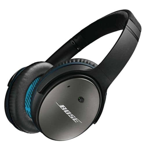 Bose QuietComfort 25 Noise Cancelling Headphones for Apple Devices QC25 - Black $164