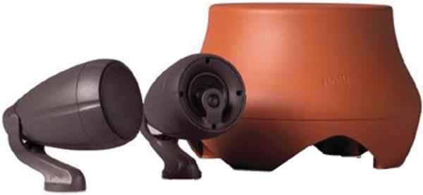 Polk Atrium Garden System- 2 Sat 30 speakers plus 10' sub-$99.00
