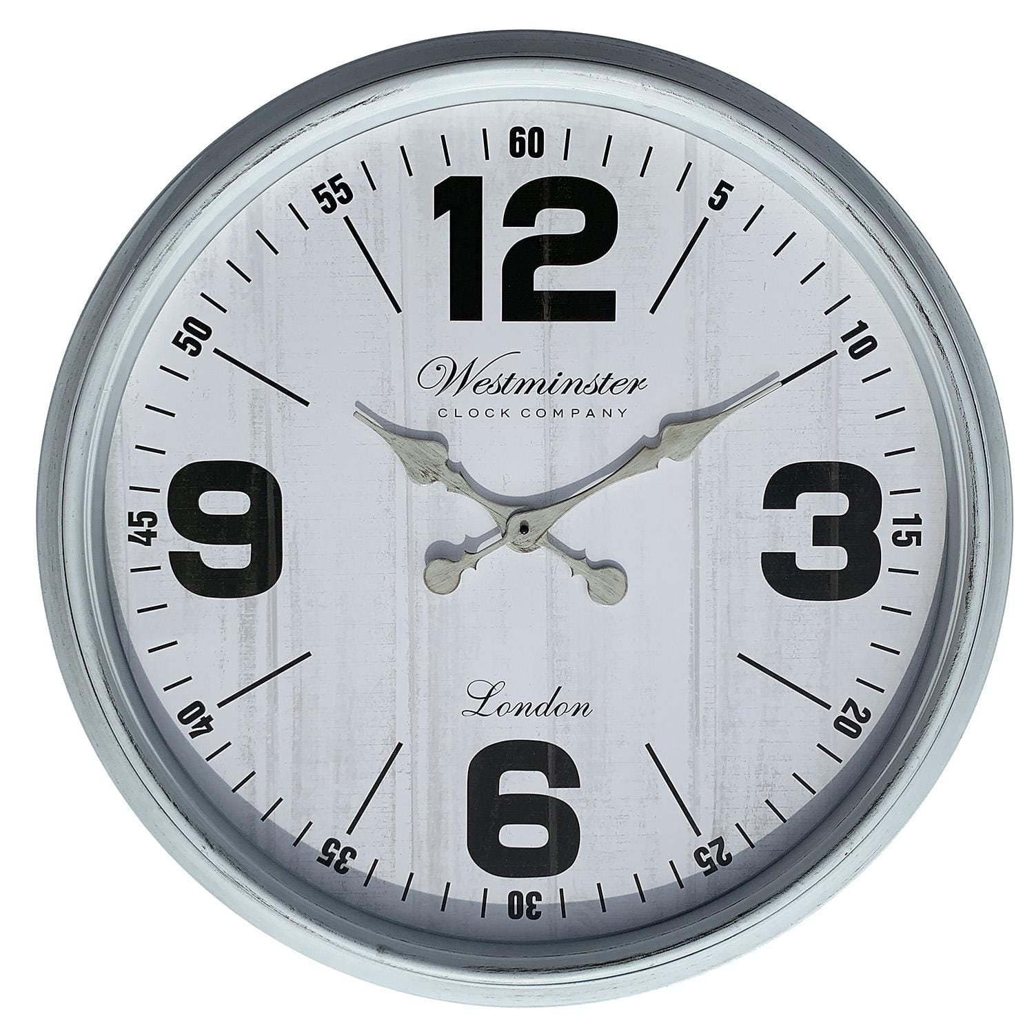 "Oversized 30"" Wall Clock (Assorted Colors) - $19.98 @ Sam's Club"