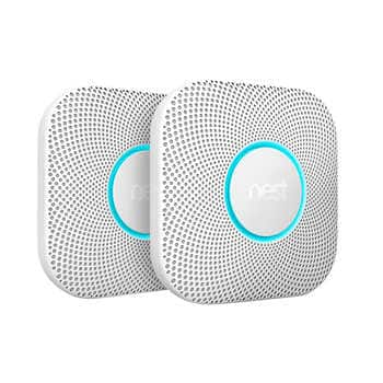 Nest Protect Wired and Battery Smoke and Carbon Monixide Detector 2-pack $199.99