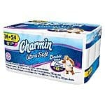 Target 72 Count Charmin Ultra Strong, Ultra Soft Toilet Paper Double Plus Rolls + $10 GC for $38.97
