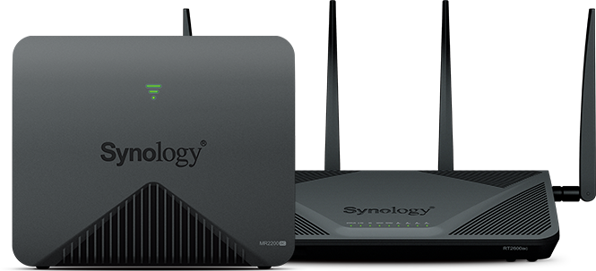 Synology RT2600AC Wi-Fi AC 2600 Gigabit Router + Mesh Wi-Fi Router
