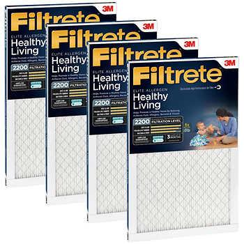 3M 2200 Series Filtrete Filter, 4-pack $45.99