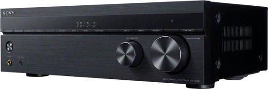 Sony - 725W 5.2-Ch. Hi-Res 4K Ultra HD A/V Home Theater Receiver - Black $199.96