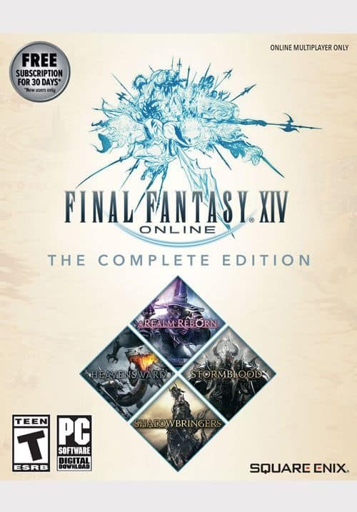 Final Fantasy XIV Complete Edition (2019 w/ Shadowbringers, PC or