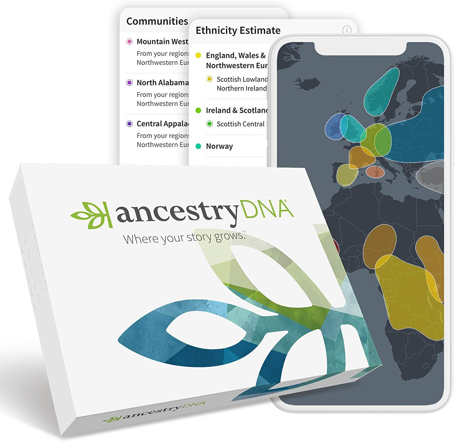 AncestryDNA: Genetic Ethnicity Test $49 Amazon