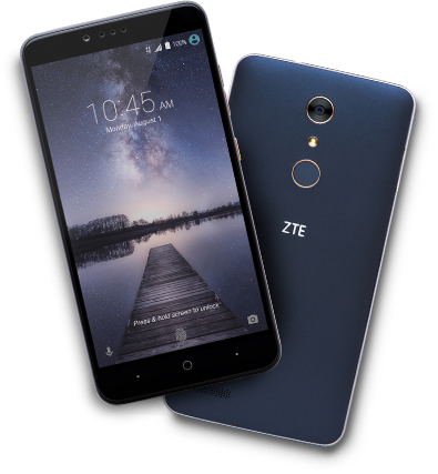 "MetroPCS - *new* ZTE Zmax PRO - 32GB, 3400mAh, 6"" 1080p, Fingerprint Scanner - August 2016 - $99 (w/ rebate)"