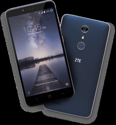 "MetroPCS - *new* ZTE Zmax PRO - 32GB, 3400mAh, 6"" 1080p, Fingerprint Scanner - August 2016 - $99 (w/ rebate)"