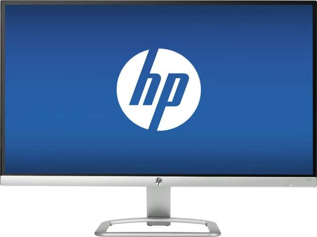 "HP 27"" IPS LED HD Monitor Natural Silver $169.99 w/ VISA Checkout @ BB; 25"" for $119.99"