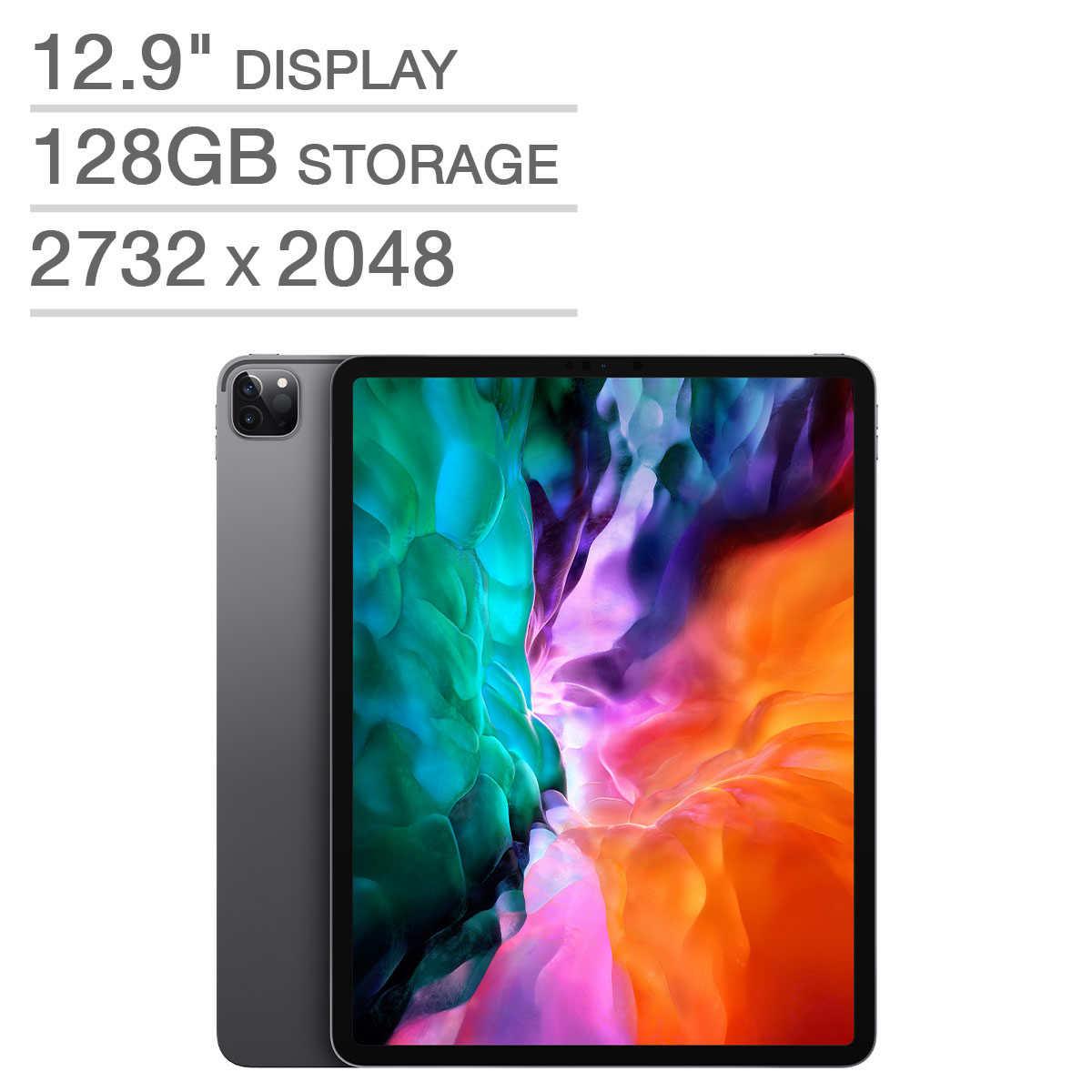 iPad Pro 12.9in 128gb Space Gray 4th Gen $799.99