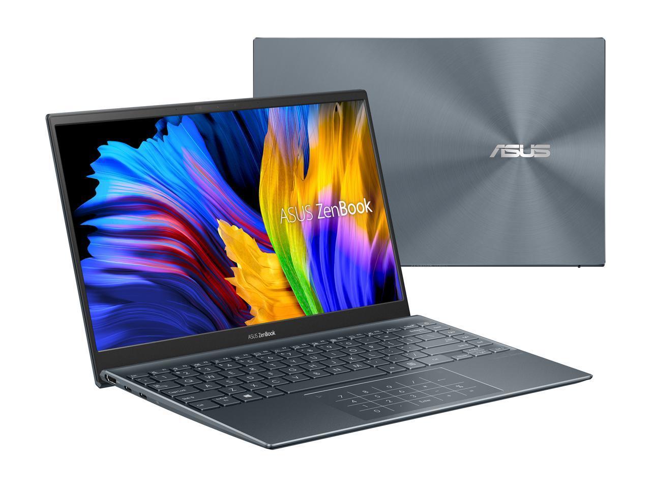 "ASUS ZenBook 14 Ultra-Slim Laptop 14"" Full HD NanoEdge Bezel Display, AMD Ryzen 5 5500U CPU, Radeon Graphics, 8GB RAM, 512GB PCIe SSD $699.99 + Free Shipping at Newegg"