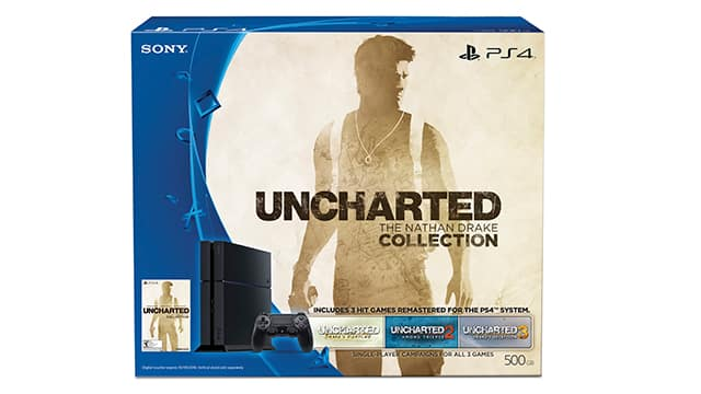 10% off Uncharted PS4 Bundle Cartwheel coupon & Red Card & Registry coupon $254.36+tax @ Target B&M