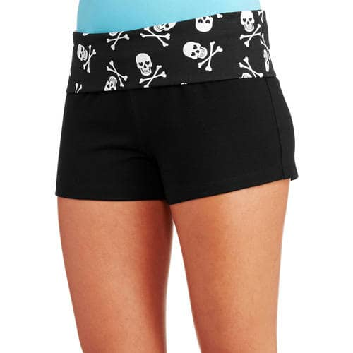 No Boundaries Juniors Yoga Shorts $1 YMMV B&M @ Walmart