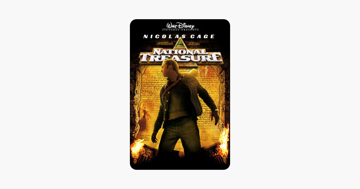 Disney's National Treasure 1 & 2: Book of Secrets 4K UHD, John Carter HD, Prince of Persia HD, etc $4.99 each @ iTunes