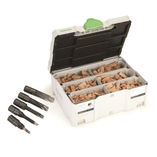 Festool 498899 Assorted Domino Beech Tenons and Cutters in T-Loc Systainer for Domino 500 $244.99