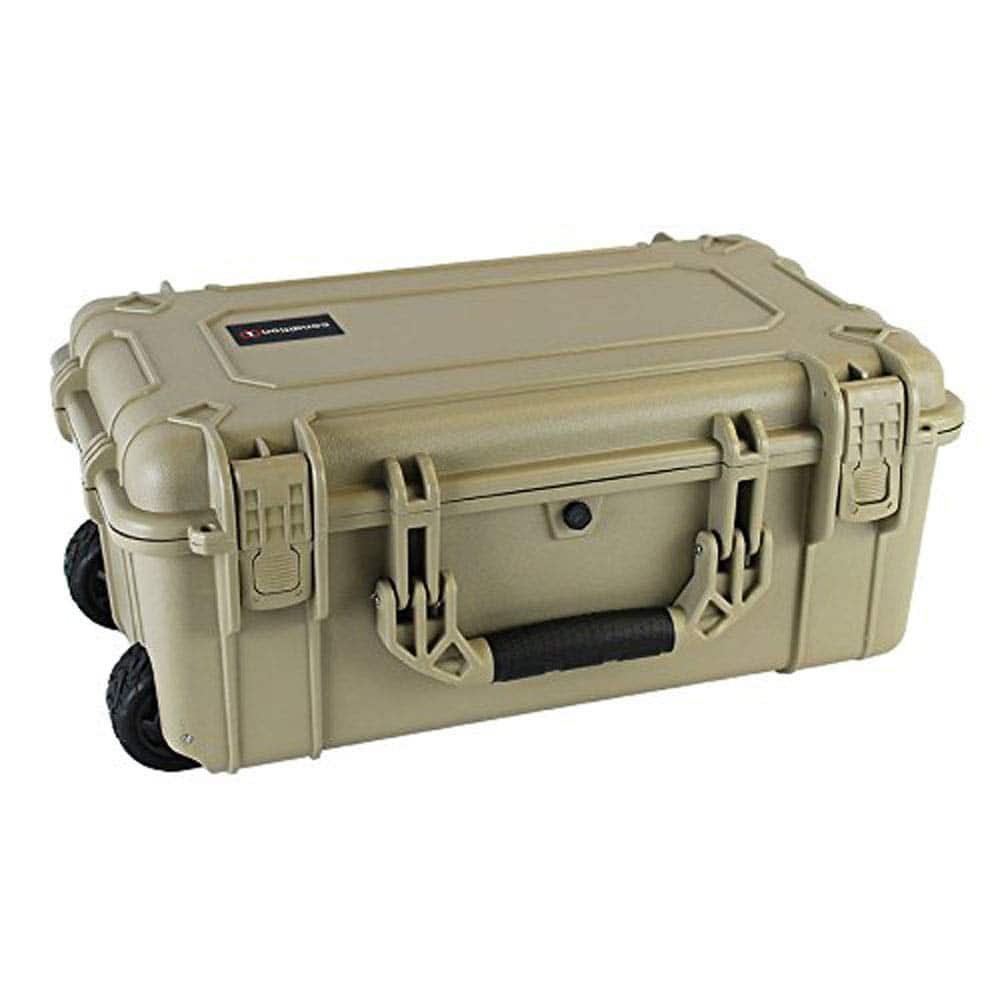 Condition 1 22 inch Tan Hard Case with Foam on Amazon $74.99