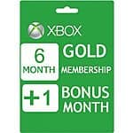 7 Month Xbox Live Gold Membership (Digital Delivery & Region Free) $18.16 or Less