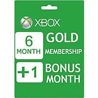 CDKeys Deal: 7 Month Xbox Live Gold Membership (Digital Delivery & Region Free) $18.16 or Less